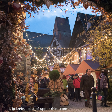 Colmar Christmas Markets France.Christmas Markets 2019 In Riquewihr Alsace And Winter Time