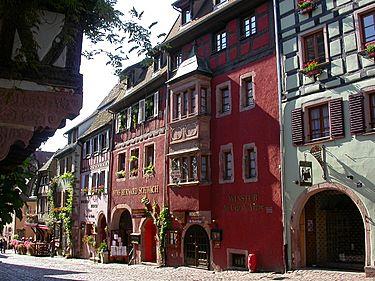 Riquewihr Эльзас достопримечательности 10 самых красивых деревень Эльзаса